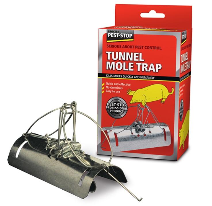 Mullvadsfälla tunnel och sorkfälla 5 pack