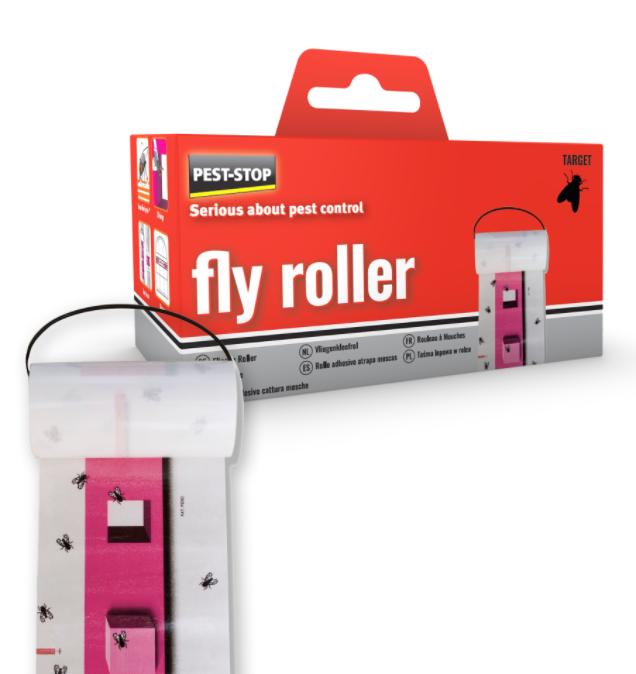 Flugpapper, Fly Roller, (psfr)