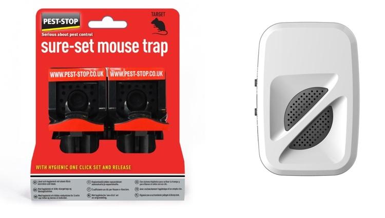 Musskrämma 370 kvm + 2 pack sure set mouse. Erbj till slut på lagret