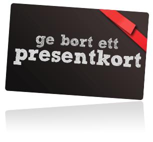 Presentkort från 500:-kr