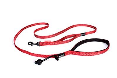 EZYDOG koppel soft trainer röd  Lite 12 mm X 181cm