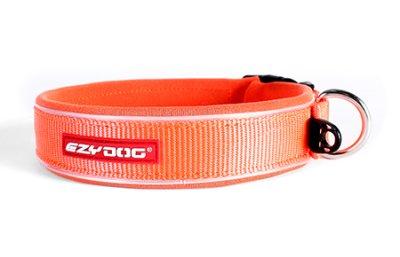 EZYDOG Halsband neopren reflex Orange