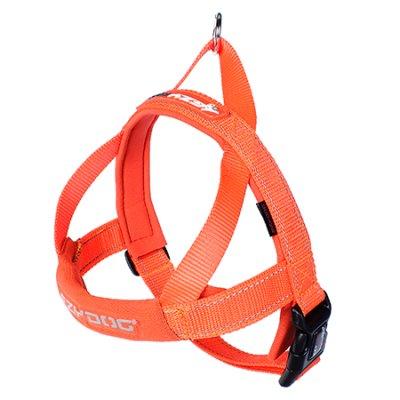 EZYDOG Sele Quickfit neopren Orange  (justerbar)