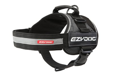 EZYDOG sele convert harness reflex grå