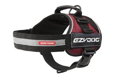 EZYDOG sele convert harness reflex Röd