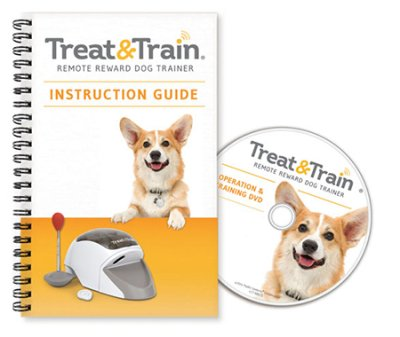 TREAT&TRAIN Remote Reward Dog Trainer