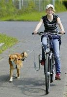 Hundkoppel hållare för Cykel