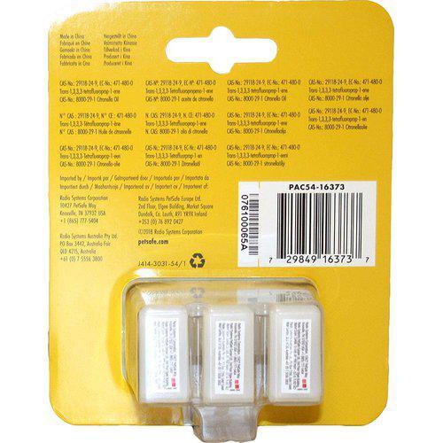 Refillspray patron till antiskallhalsband citronella
