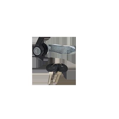 Flexxy låskolv med 2 st nycklar (komplett)