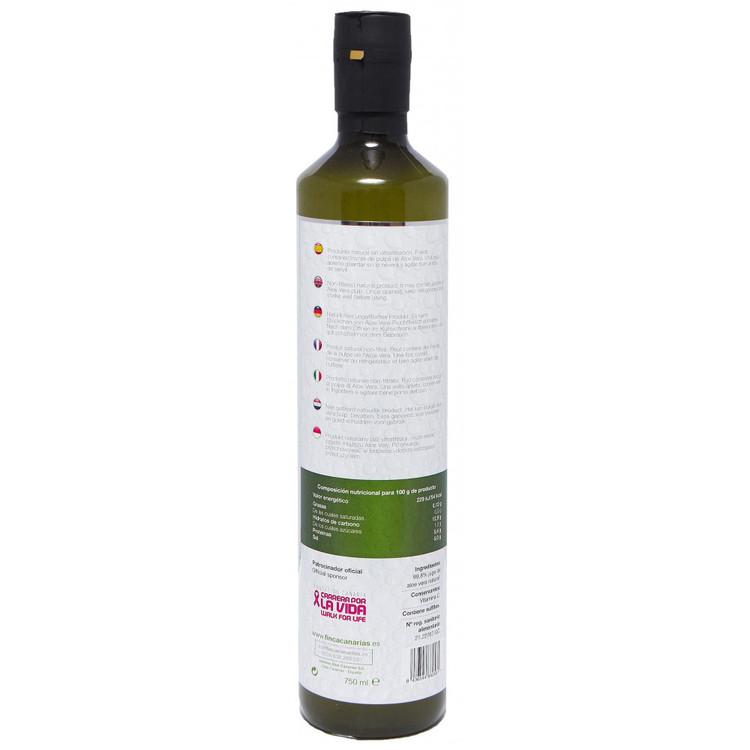 Färsk Aloe Vera Juice med fruktkött - 750 ml