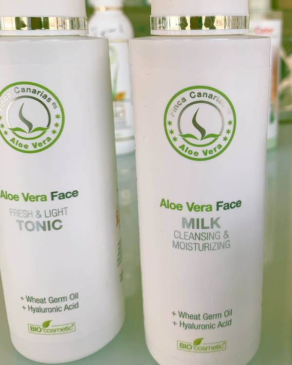 Aloe Vera FACE MILK & FACE TONIC - PAKETPRIS