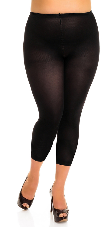 Glamory Leggings 2 XL svart 80 den velvet