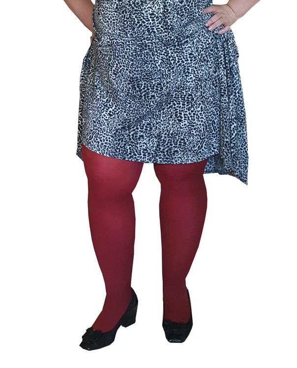 Strumpbyxa Cherry röd 60 den Dublin 3 XL