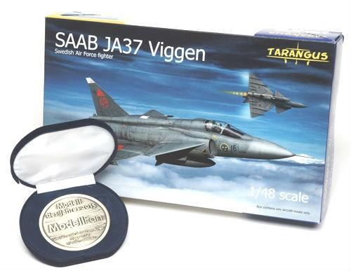 SAAB JA37 Viggen fighter 1/48