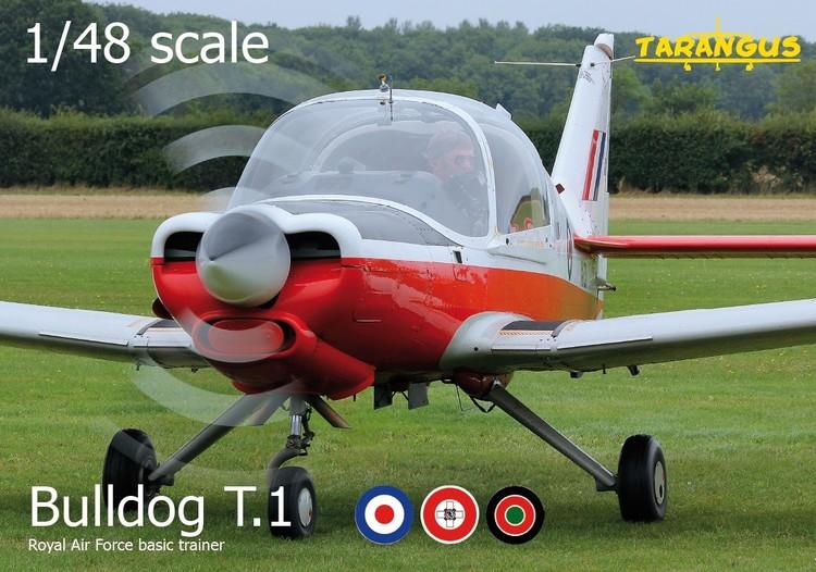 SA Bulldog T.1 trainer 1/48