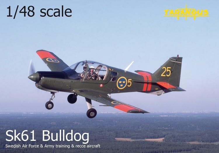 Sk61 SA Bulldog trainer 1/48