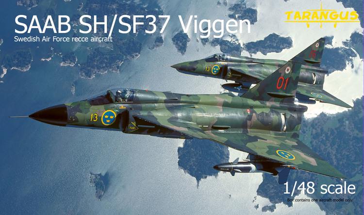SAAB SH/SF37 Viggen recce 1/48