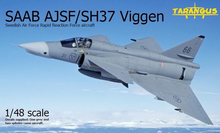 SAAB SH/SF37 Viggen SWERAP 1/48