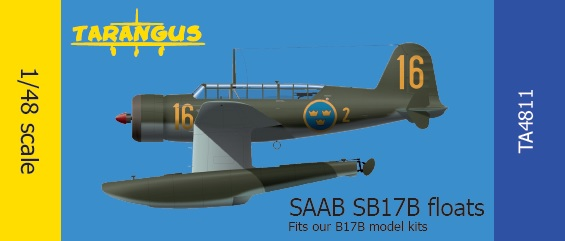 SAAB 17 Floats for our B17 model