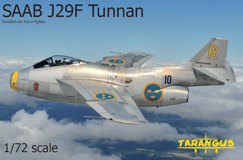 SAAB J29F Tunnan 1/72
