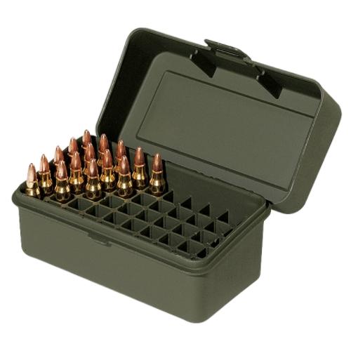 Ammunitionsbox grön 50 patroner