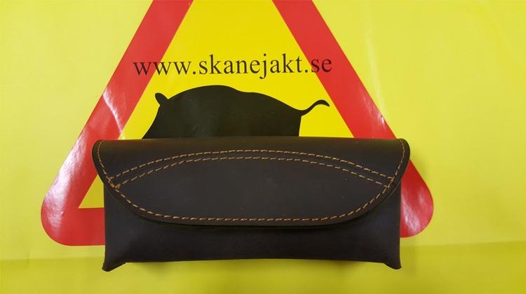 Bältesväska i läder liten