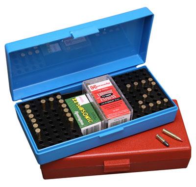 ammunitionsbox .22 samt .17 HMR