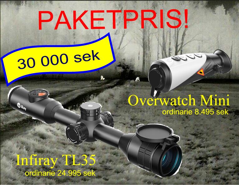 PAKETPRIS TL35+Overwatch Mini
