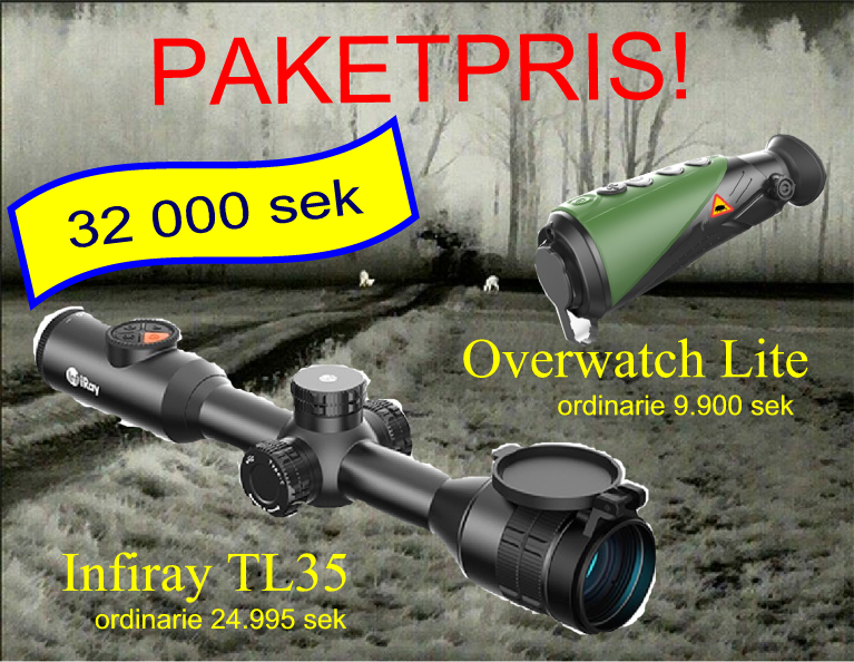 PAKETPRIS TL35+Overwatch Lite