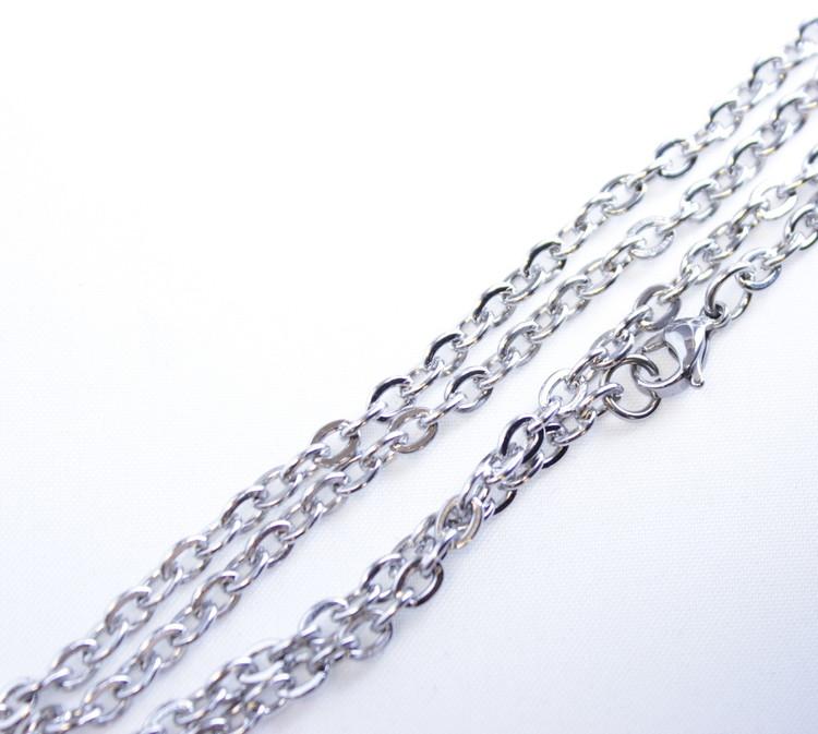 Halsband Cross White stone