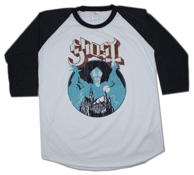 Ghost baseballshirt