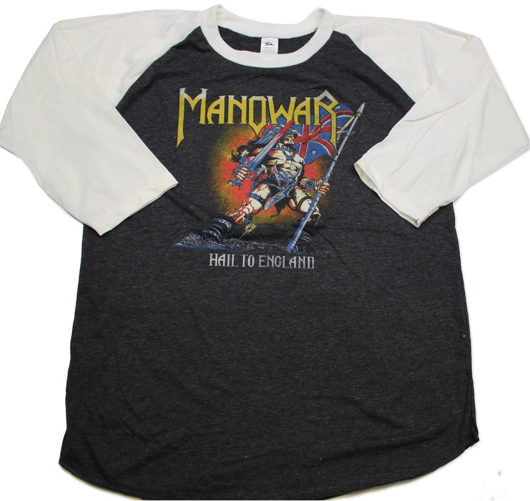 Manowar baseballshirt