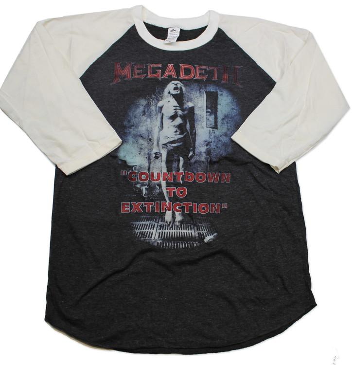 Megadeath baseballshirt