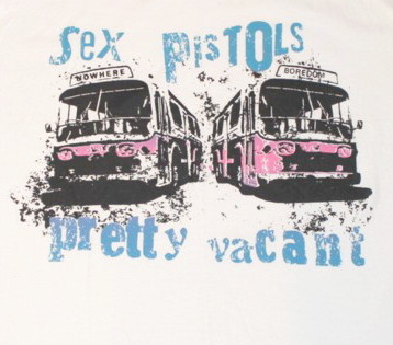 Sex pistols Pretty vacant baseballshirt