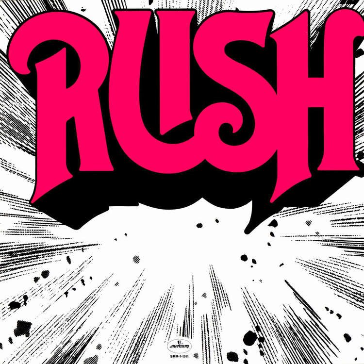 Rush 1974 baseballshirt