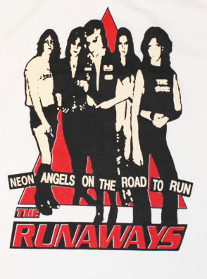 The Runaways baseballshirt