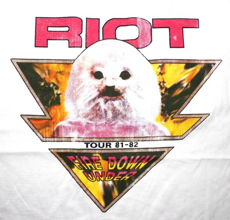 Riot baseballshirt