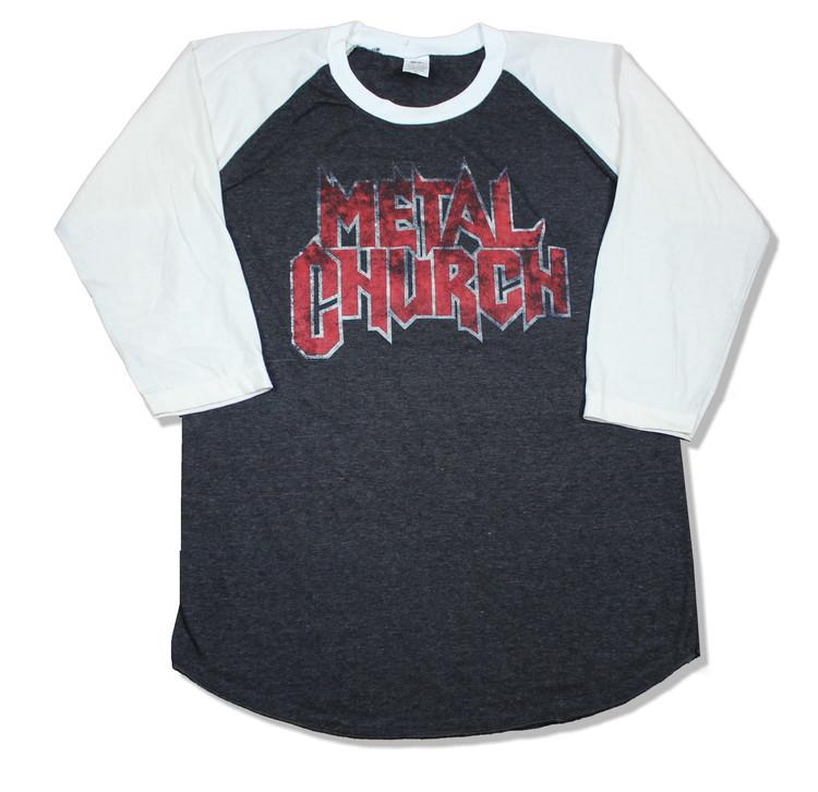Metal church baseballshirt