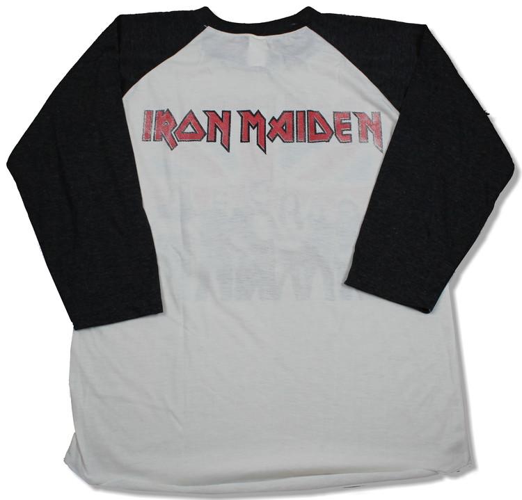 Iron maiden england baseballshirt