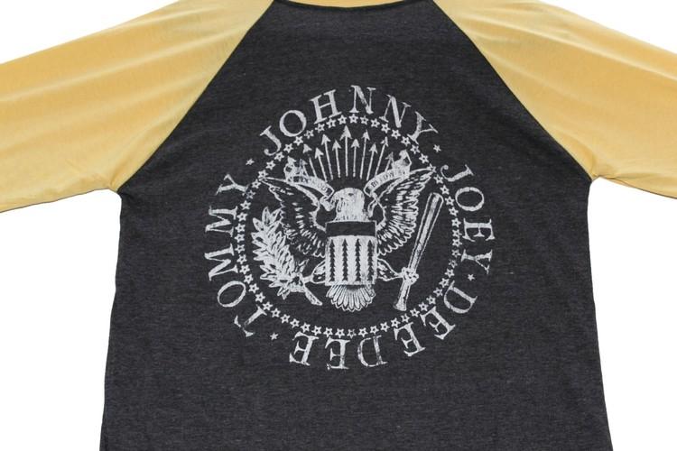 Ramones Road to ruin baseballshirt