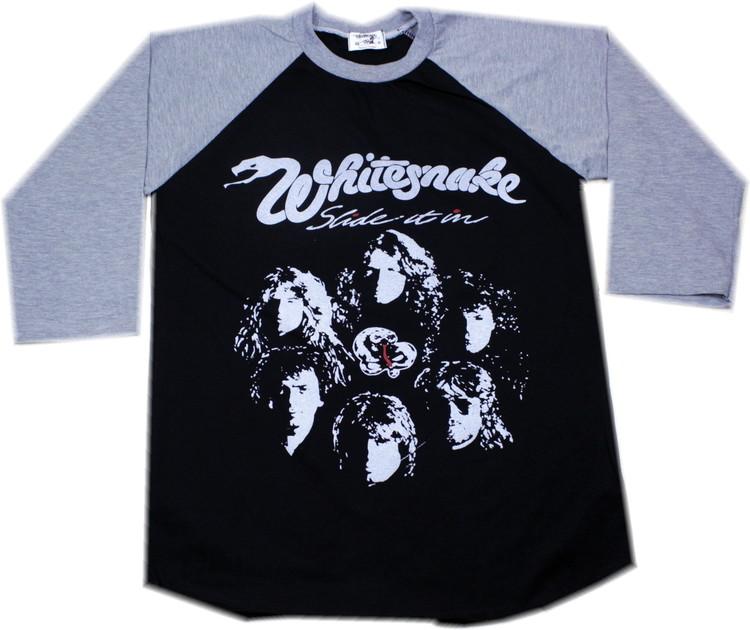 Whitesnake baseballshirt
