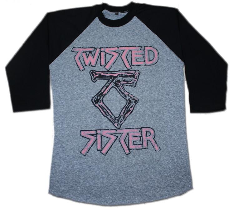 Twisted sister baseballshirt