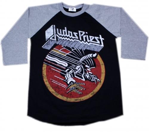 Judas priest screaming for vengeance Grey baseballshirt