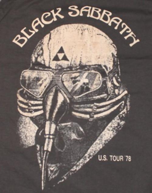 Black sabbath US tour-78 T-shirt