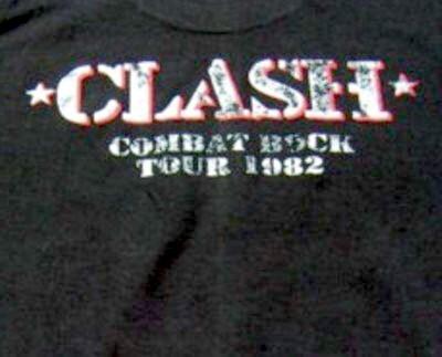The clash Combat rock T-shirt