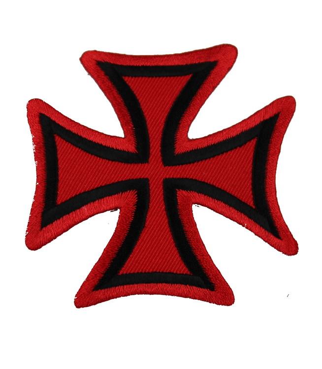 Malteserkors Röd/svart
