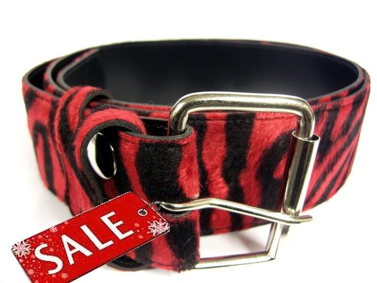 Bälte zebra röd