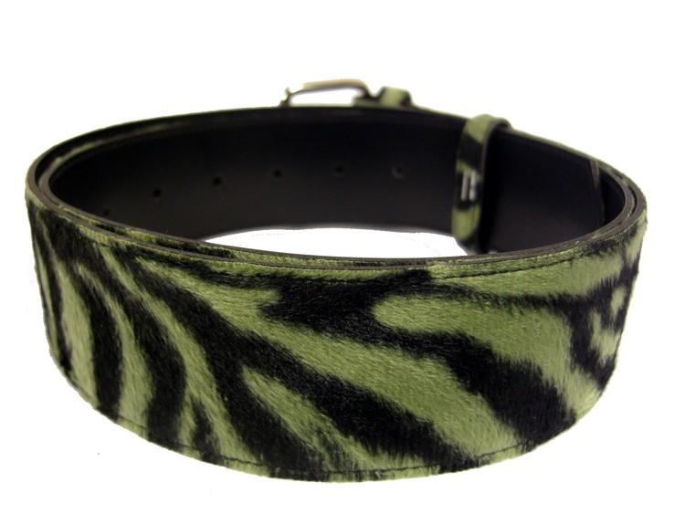 Bälte zebra grön