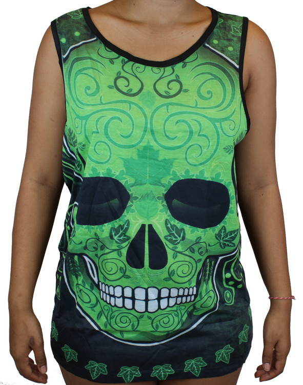 Green skull Linne