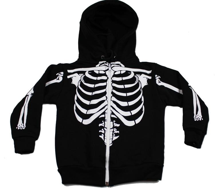Luvtröja Skelett
